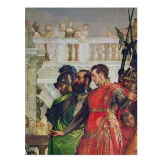 Famille de Darius avant Alexandre le grand Carte Postale