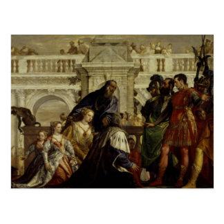 Famille de Darius avant Alexandre les grands 2 Carte Postale