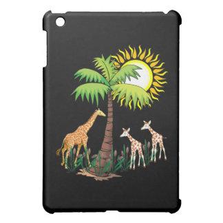 Famille de girafe coques iPad mini