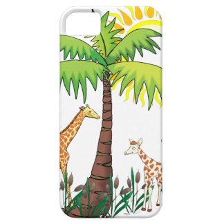 Famille de girafe iPhone 5 case