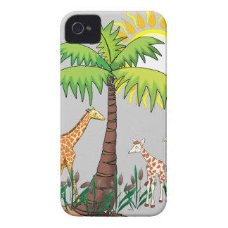 Famille de girafe coque Case-Mate iPhone 4