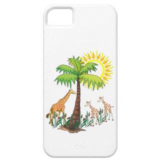 Famille de girafe coque Case-Mate iPhone 5