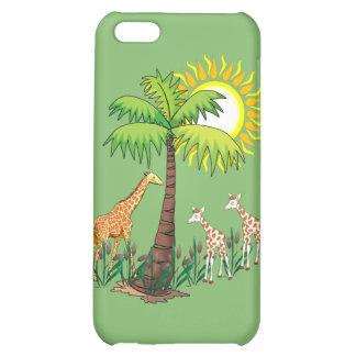 Famille de girafe coque pour iPhone 5C