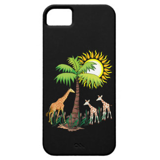 Famille de girafe coque iPhone 5