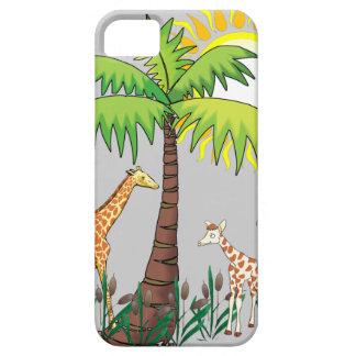 Famille de girafe étui iPhone 5