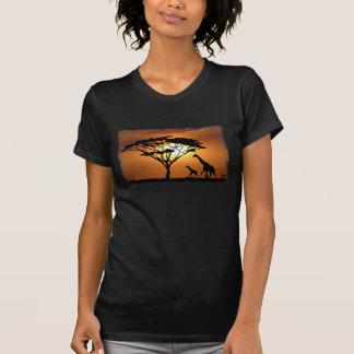 famille de girafe t-shirt