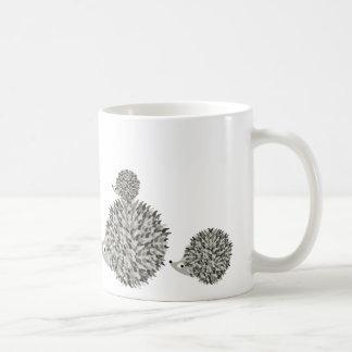 Famille de hérissons mug