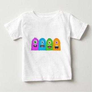 Famille de monstre t-shirt pour bébé