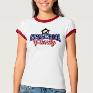 Famille fière de Homeschool - T-shirt d'école de