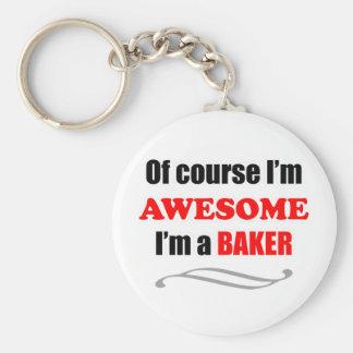 Famille impressionnante de Baker Porte-clés