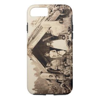 Famille maorie, Nouvelle Zélande, c.1880s Coque iPhone 7