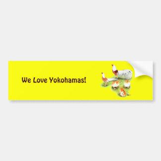 Famille rouge d'épaule de Yokohama Autocollant De Voiture