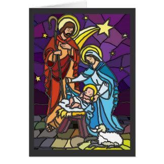 Famille sainte carte de vœux