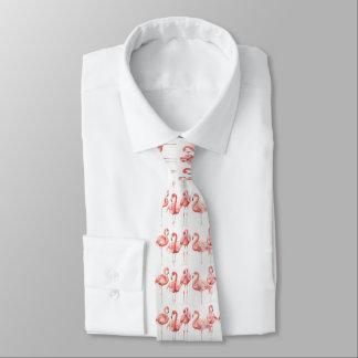 Famille tropicale de | des flamants cravates