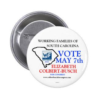 Familles actives pour Elizabeth Colbert Busch Badges