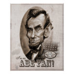 Fan d'Abe Lincoln Poster