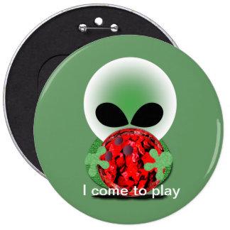 Fan de bowling badge rond 15,2 cm