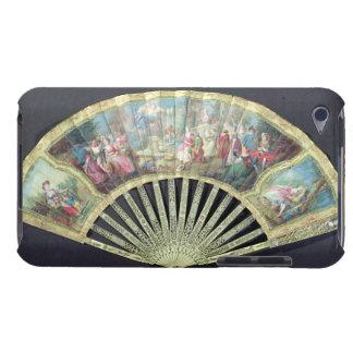 Fan de cour, Français, XVIIIème siècle (ivoire et  Coque iPod Touch