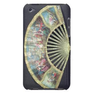 Fan de cour, Français, XVIIIème siècle (ivoire et Étui iPod Touch