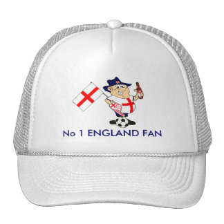Fan de foot personnalisable de l'Angleterre Casquettes De Camionneur