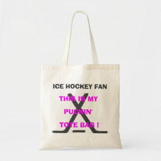 Fan de hockey sur glace - c'est mon sac fourre-tou