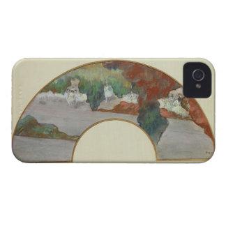 Fan d'Edgar Degas |, c.1879 Coque Case-Mate iPhone 4