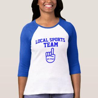 Fan locale de l'équipe de sports #1 t-shirt