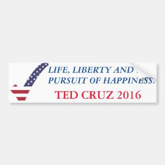 Fanez Cruz 2016-Life, la liberté, poursuite de Autocollant De Voiture