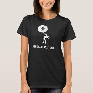 Fanfare - joueur de tuba t-shirt