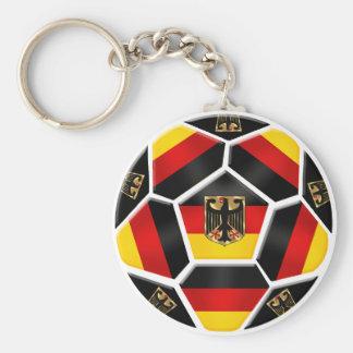 Fans de foot 2014 de coupe du monde de l'Allemagne Porte-clé Rond