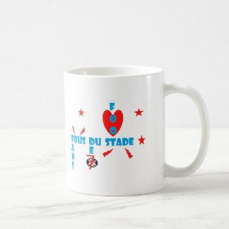 FANS FOUS DE STADE.png Mug Blanc