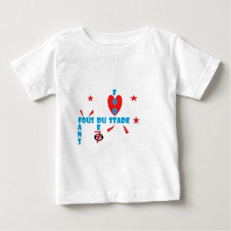 FANS FOUS DE STADE.png T-shirt Pour Bébé