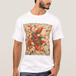 Fantaisie 2010 de fruits de mer t-shirt