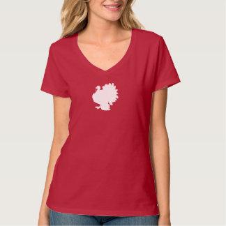 Fantaisie de blanc de la Turquie T-shirt