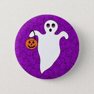 Fantôme de des bonbons ou un sort de Halloween Badges