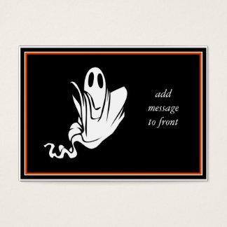 Fantôme de Halloween flottant votre manière ! Cartes De Visite