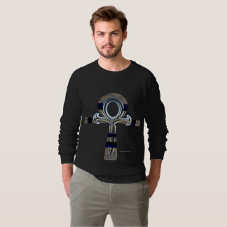 Fantôme du sweatshirt raglan des hommes d'Ankh