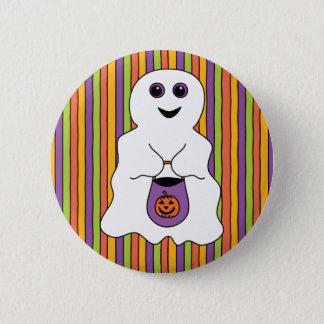 Fantôme éffrayant de Halloween Tour-ou-treater Pin's