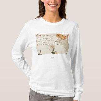 Fantômes de GreetingJack-O-Lanterne de Halloween T-shirt