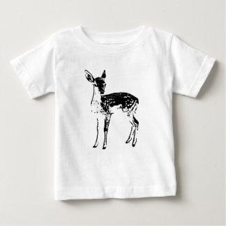 Faon - cerf commun de bébé t-shirt pour bébé