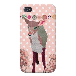 Faon de fleurs de cerisier i étui iPhone 4/4S