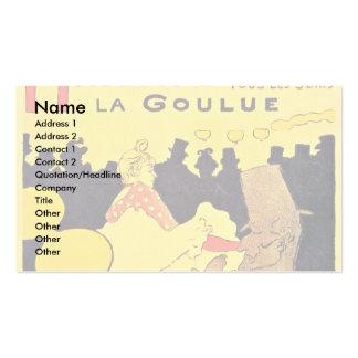 """Fard à joues allemand"""", """"La Goulue, Carte De Visite Standard"""