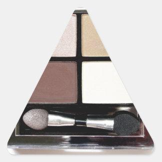 Fard à paupières autocollant en triangle