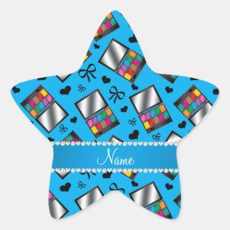 Fard à paupières nommé personnalisé d'arc-en-ciel sticker étoile