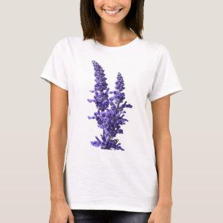 farine de sauge bleue en fleur au printemps t-shirt