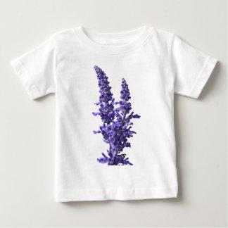 farine de sauge bleue en fleur au printemps t-shirt pour bébé