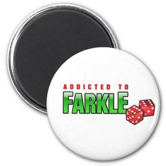 FARKLE - dépendant Magnet Rond 8 Cm