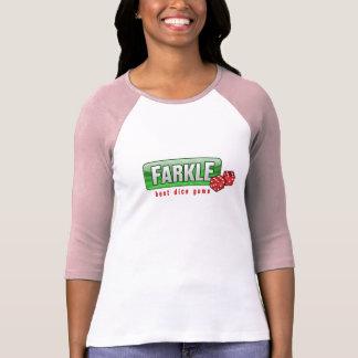 FARKLE - le meilleur jeu de matrices T-shirt