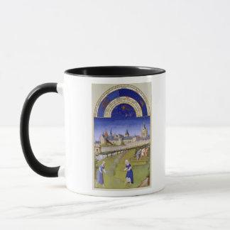 Fascimile de juin : Fenaison Mug