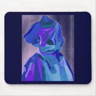 Fashionista de diva dans le bleu I Tapis De Souris